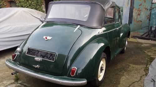 MORRIS MINOR CONVERTIBLE SPLIT WINDOW LHD 1952 For Sale (picture 4 of 6)