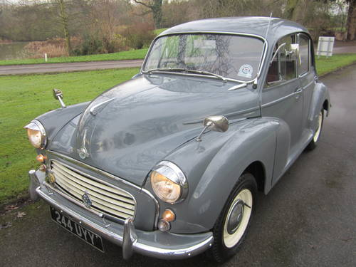 1960 MORRIS MINOR **SOLD ~ OTHERS WANTED 07739 329 389 ~ SOLD** For Sale (picture 1 of 6)