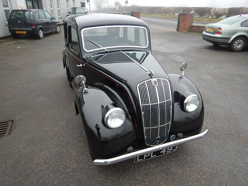 1948 MORRIS EIGHT Series E Four Door Saloon SOLD (picture 2 of 6)