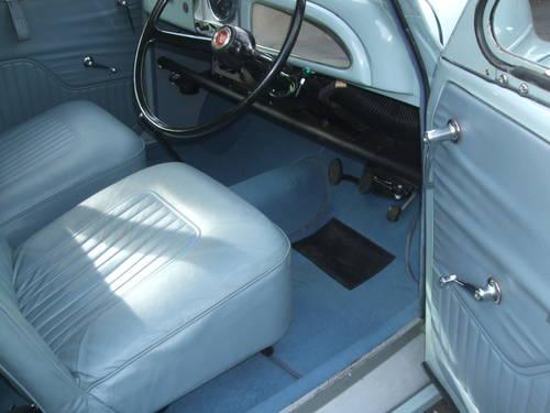 1970 Smoke Grey 2 Door Saloon with Light Blue Interior Trim