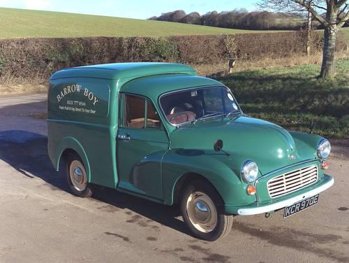 1967 Morris Minor 1000 Van SOLD (picture 2 of 6)