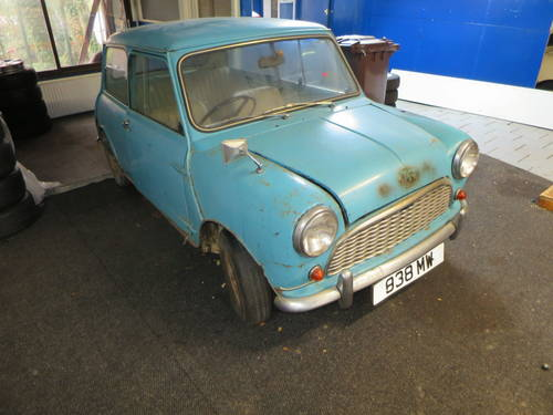 1961 Mk1 Morris Mini Minor For Restoration Sold Car And Classic