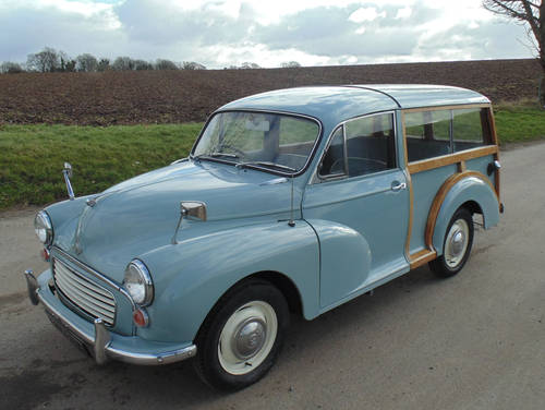 1969 Morris Minor 1000 Traveller SOLD (picture 1 of 6)
