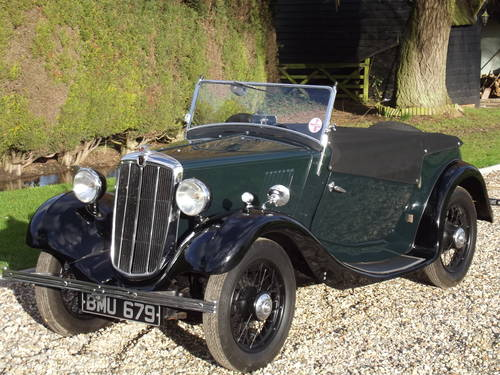 1935 Morris 8HP Series One Two Seater SOLD (picture 1 of 6)