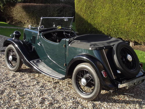 1935 Morris 8HP Series One Two Seater SOLD (picture 4 of 6)