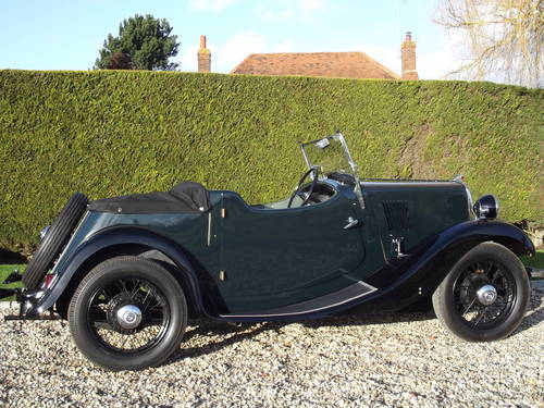 1935 Morris 8HP Series One Two Seater SOLD (picture 5 of 6)
