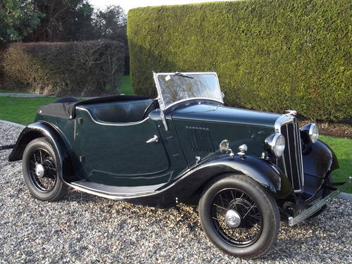 1935 Morris 8HP Series One Two Seater SOLD (picture 6 of 6)