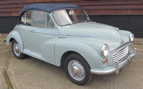 1968 Morris Minor Convertible For Sale SOLD (picture 2 of 6)
