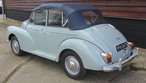 1968 Morris Minor Convertible For Sale SOLD (picture 3 of 6)