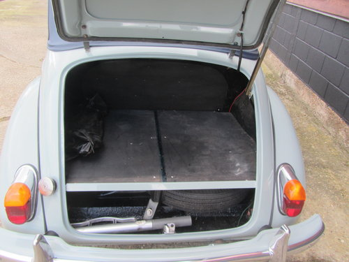 1968 Morris Minor Convertible For Sale SOLD (picture 6 of 6)