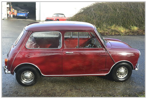 1967 Morris Mini Mk1 for sale SOLD (picture 2 of 6)