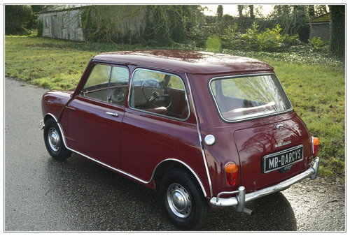 1967 Morris Mini Mk1 for sale SOLD (picture 4 of 6)