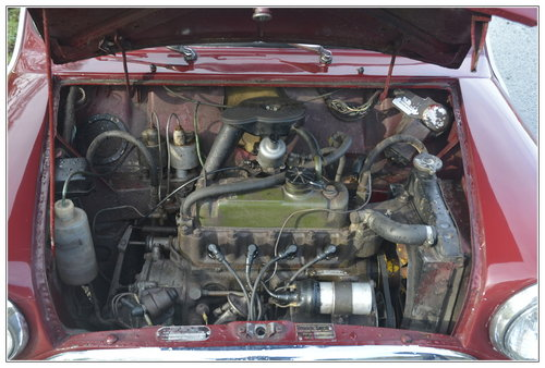 1967 Morris Mini Mk1 for sale SOLD (picture 5 of 6)