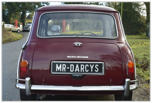 1967 Morris Mini Mk1 for sale SOLD (picture 6 of 6)