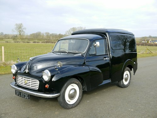 bf36e237c35ba6 ... 1969 MORRIS MINOR 1000 Van For Sale (picture 1 of 6) ...