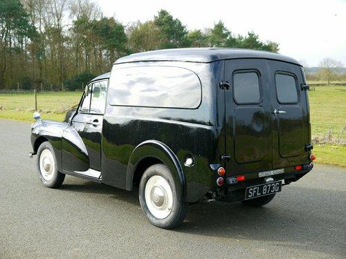 1969 MORRIS MINOR 1000 Van  SOLD (picture 4 of 6)