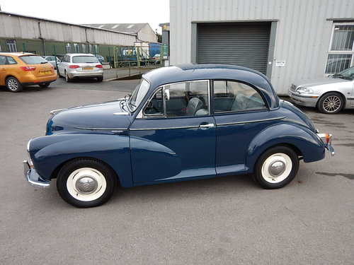 1969 MORRIS MINOR 1000 Two Door Saloon ~  SOLD (picture 1 of 6)