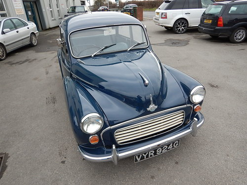 1969 MORRIS MINOR 1000 Two Door Saloon ~  SOLD (picture 2 of 6)