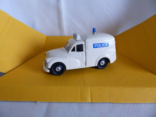1960 MORRIS MINOR POLICE VAN LTD ED RAY BYGATE MODELS For Sale (picture 2 of 6)