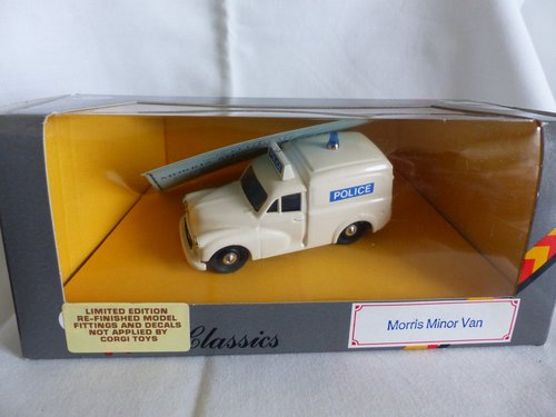 1960 MORRIS MINOR POLICE VAN LTD ED RAY BYGATE MODELS For Sale (picture 5 of 6)