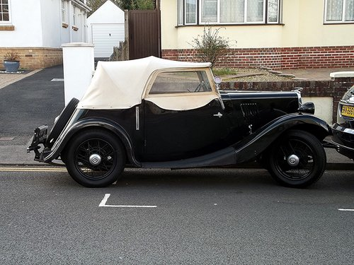 1937 MORRIS 8 SERIES ONE TWO-SEATER ROADSTER TOURER SOLD (picture 6 of 6)