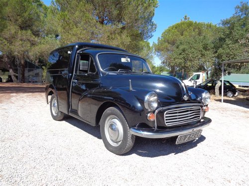 1968 Morris Minor Van For Sale (picture 1 of 6)