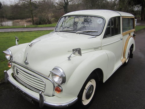 1968 MORRIS 'DE LUXE' TRAVELLER ESTATE ~ MATCHING NUMBERS SOLD (picture 2 of 6)