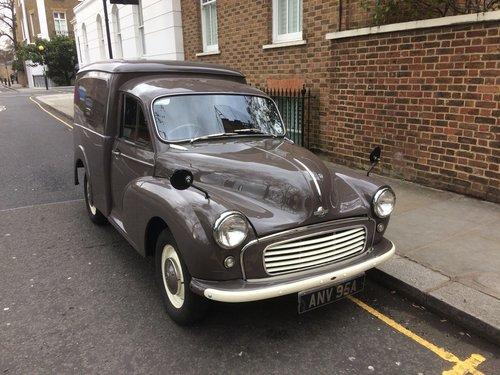 Morris Van 1963. 1 years MOT. 59k miles. For Sale (picture 1 of 6)