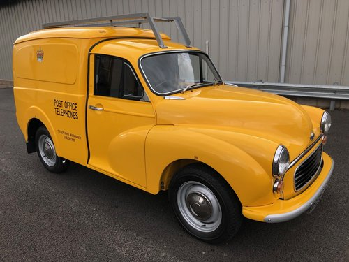 1971 MORRIS MINOR POST OFFICE TELEPHONES 6CWT VAN SOLD (picture 1 of 6)