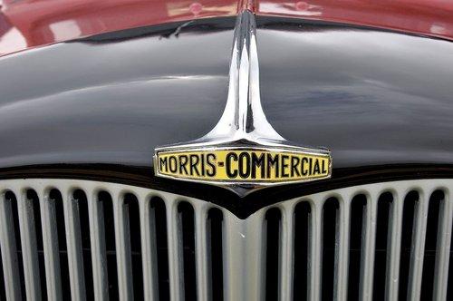 1939 Morris commercial LC3 Enamel Bonnet Badge For Sale (picture 4 of 4)