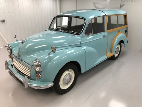 1971 A Delightful Morris Minor 1000 Traveller in Bermuda Blue SOLD (picture 2 of 6)
