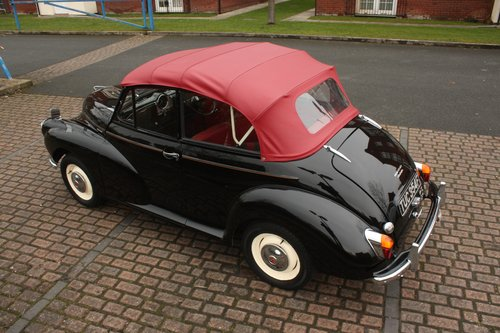 1967 Morris Minor Convertible - Black, restored 1098cc SOLD (picture 2 of 6)
