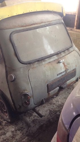 1963 Morris Mini-Minor Mk1Restoration project For Sale (picture 2 of 6)