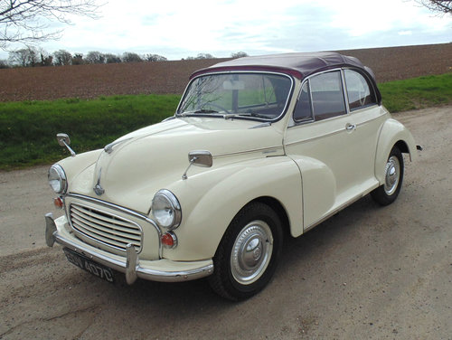 1966 Morris Minor 1000 Convertible SOLD (picture 1 of 6)