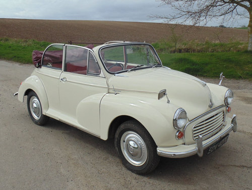 1966 Morris Minor 1000 Convertible SOLD (picture 2 of 6)