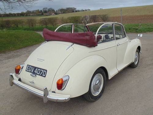 1966 Morris Minor 1000 Convertible SOLD (picture 3 of 6)
