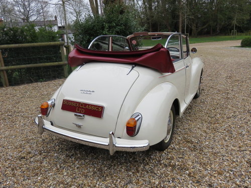 1966 Morris Minor 1000 Convertible (Card Payments Accepted) SOLD (picture 2 of 6)