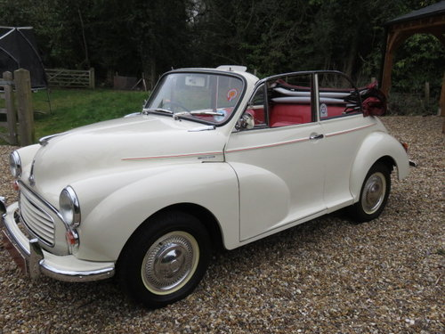 1966 Morris Minor 1000 Convertible (Card Payments Accepted) SOLD (picture 3 of 6)