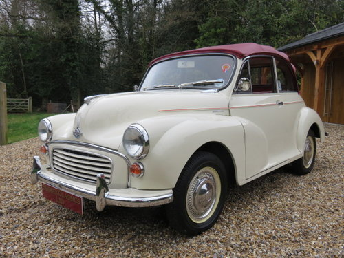 1966 Morris Minor 1000 Convertible (Card Payments Accepted) SOLD (picture 4 of 6)