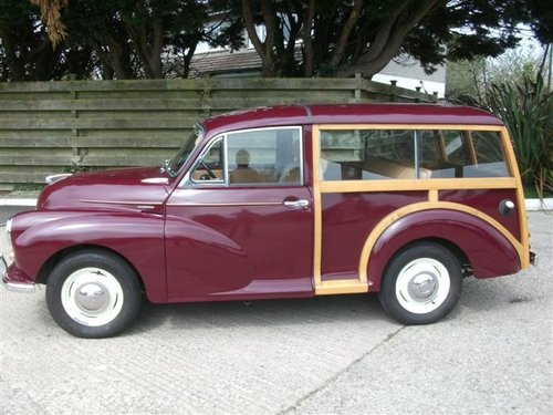 1970 Morris Traveller, lovely example! SOLD (picture 1 of 6)