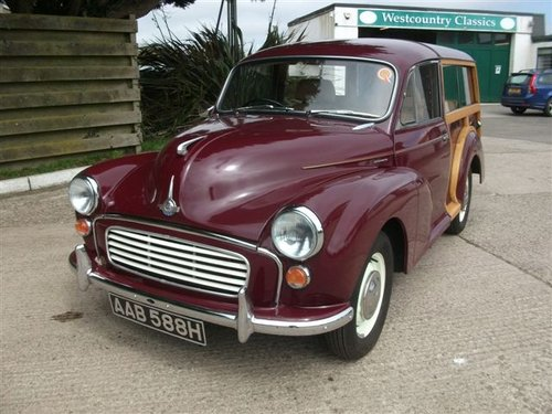 1970 Morris Traveller, lovely example! SOLD (picture 2 of 6)