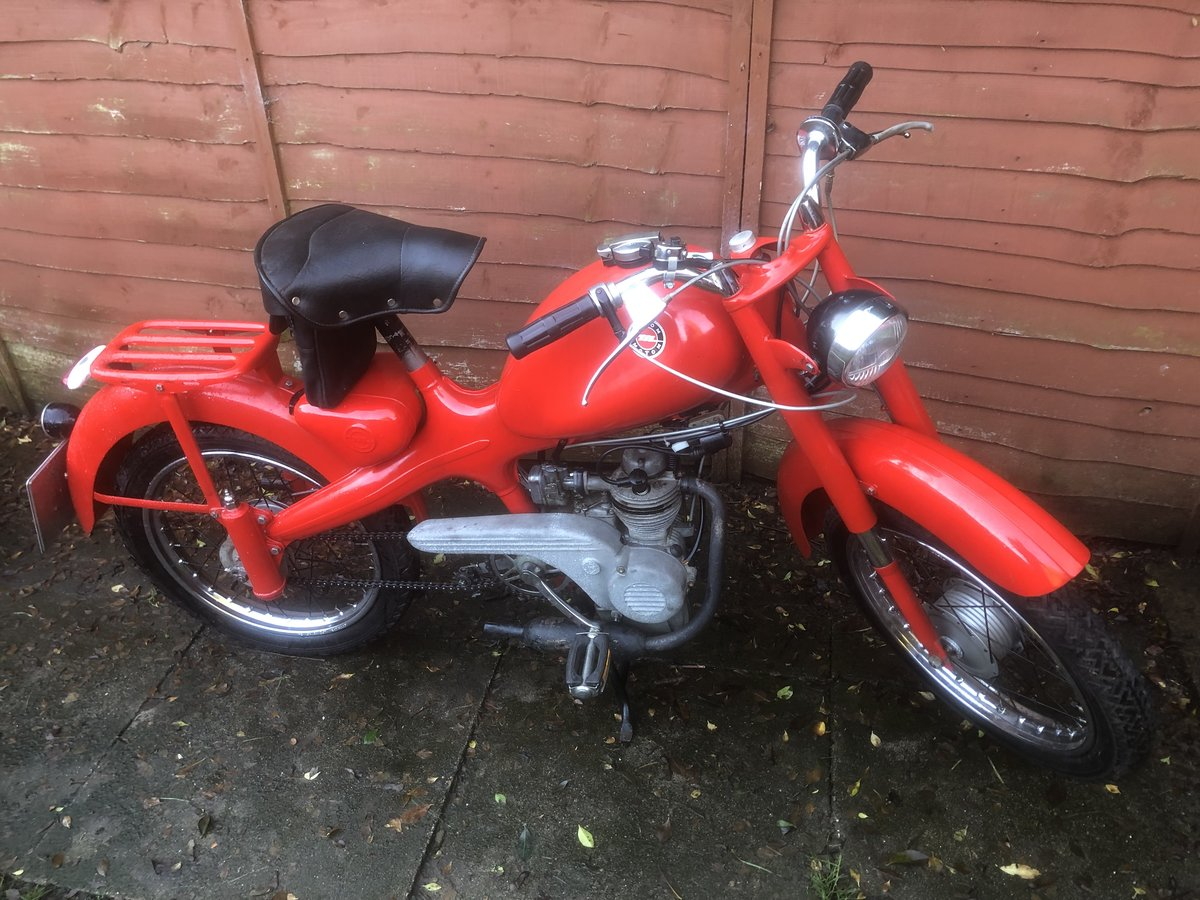 1962 Motom 48c rare Italian moped 49cc For Sale (picture 1 of 12)