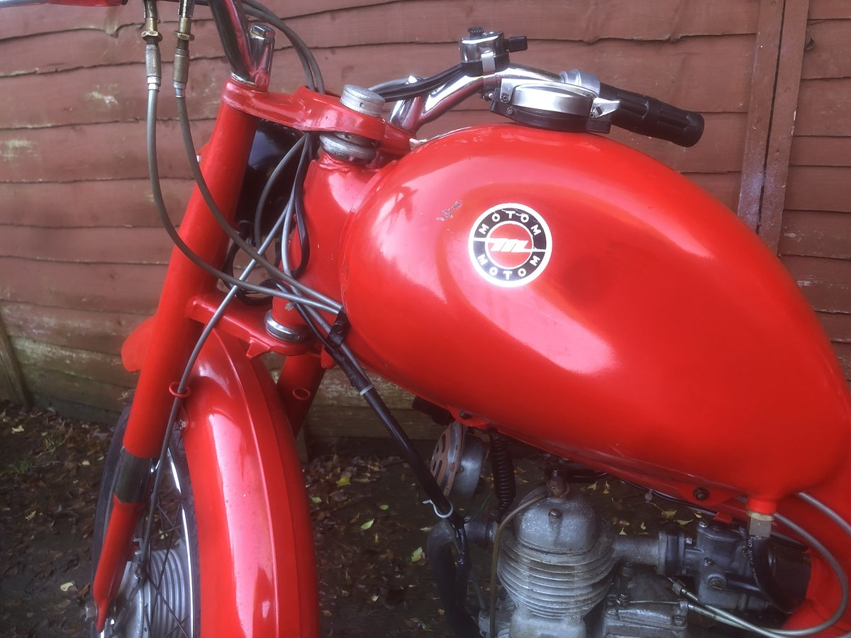 1962 Motom 48c rare Italian moped 49cc For Sale (picture 4 of 12)