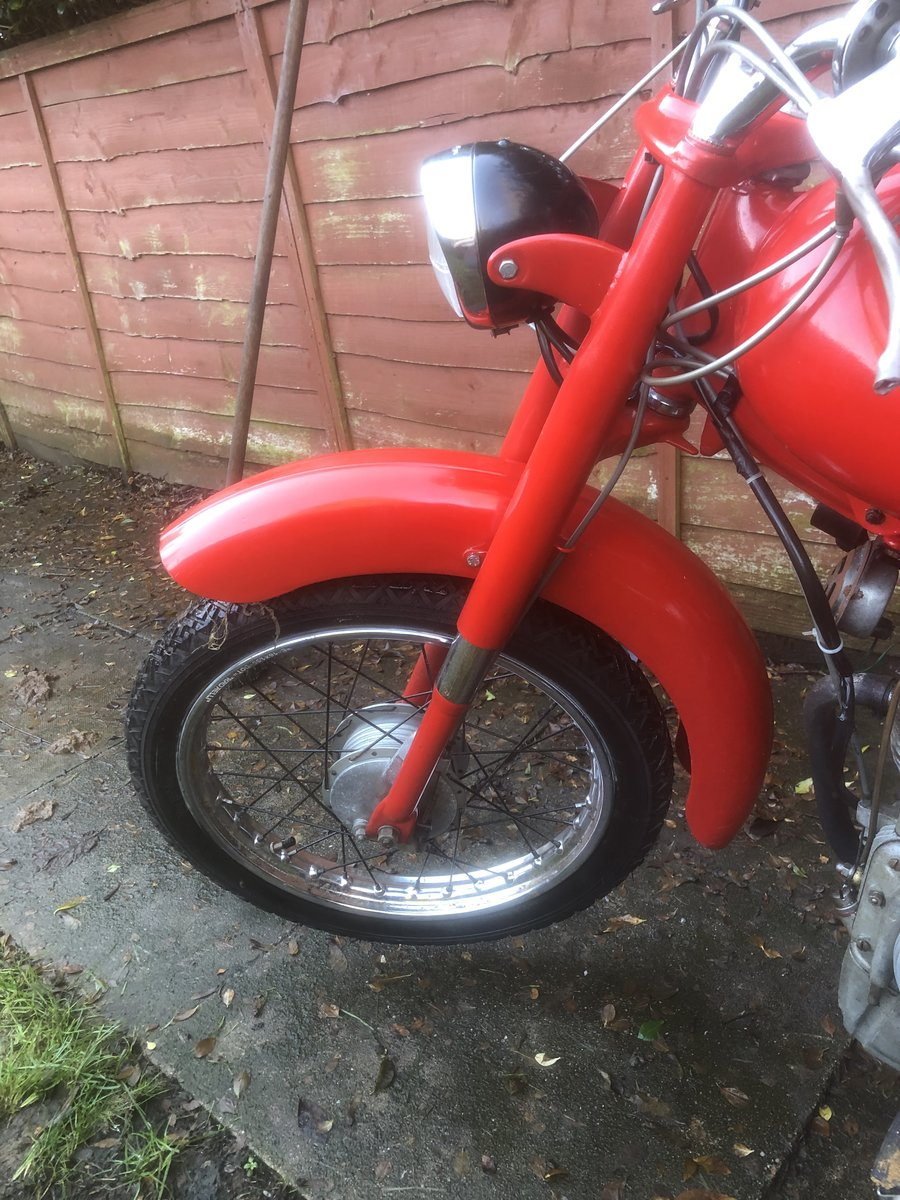 1962 Motom 48c rare Italian moped 49cc For Sale (picture 11 of 12)