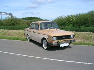 Very Rare 1988 Moskvich 2140 1.5 petrol Left Hand Drive For Sale