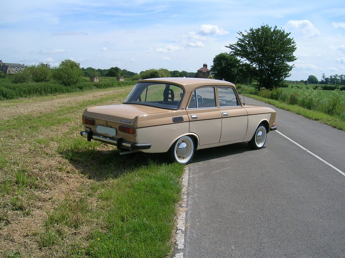 Very Rare 1988 Moskvich 2140 1.5 petrol Left Hand Drive For Sale (picture 3 of 6)
