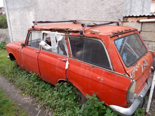 1972 Moskvich 427 for parts + parts For Sale (picture 1 of 6)