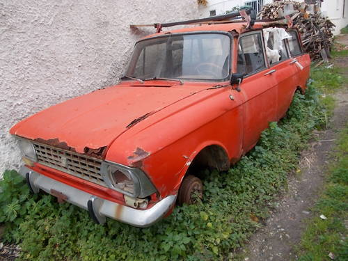 1972 Moskvich 427 for parts + parts For Sale (picture 6 of 6)