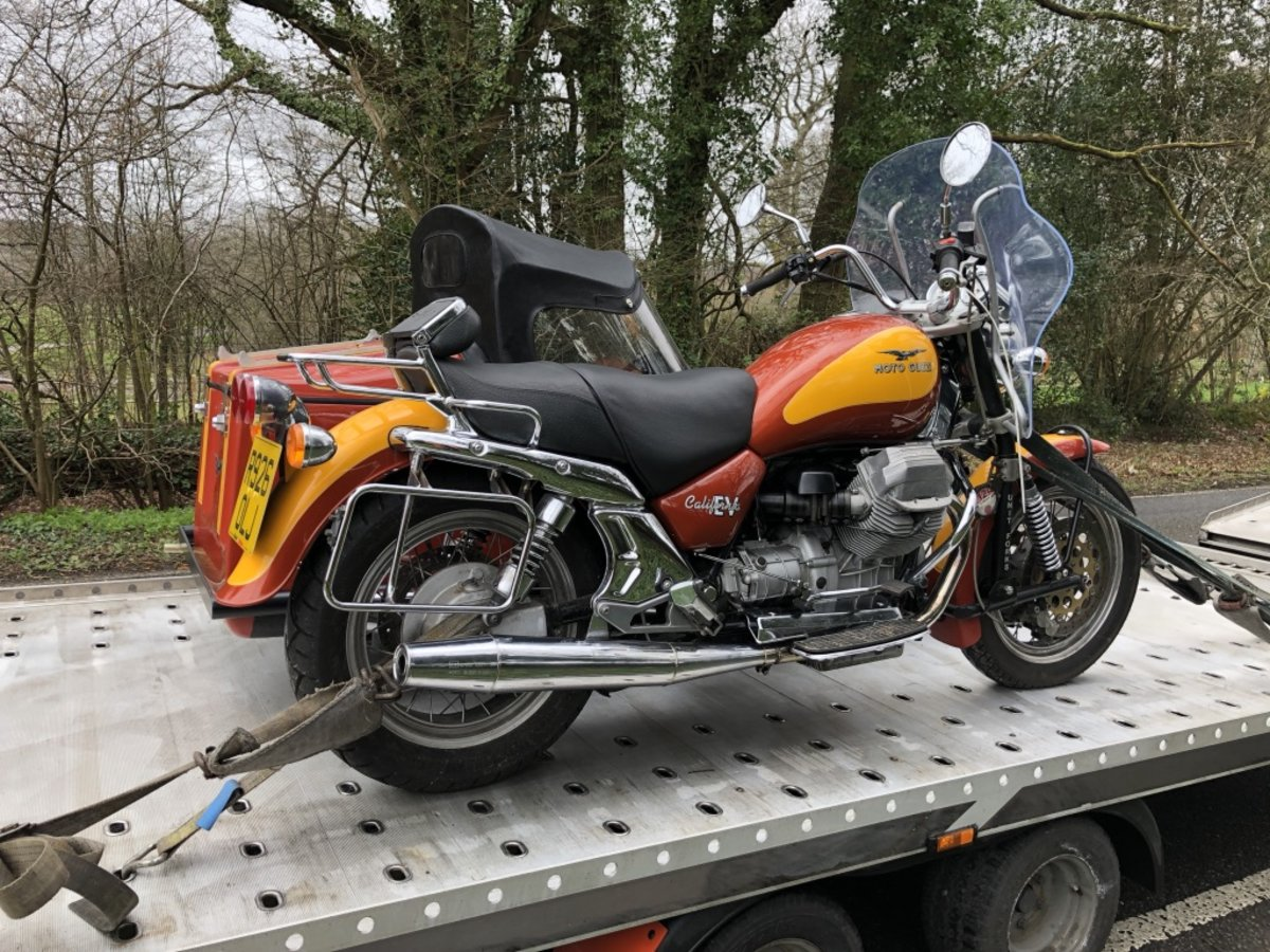 1997 Moto Guzzi Cali with Hedingham XL sidecar For Sale (picture 5 of 6)