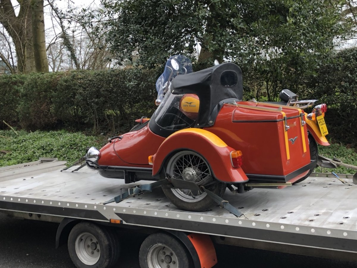 1997 Moto Guzzi Cali with Hedingham XL sidecar For Sale (picture 6 of 6)